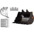 Дополнительное оборудование для гусеничных и колесных экскаваторов