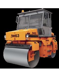 Каток дорожный двухвальцовый DM63
