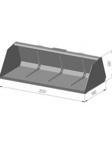 Ковш снеговой КС 800