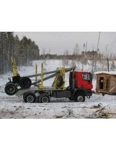 Лесовоз-хлыстовоз IVECO-АМТ 633930, 6х6