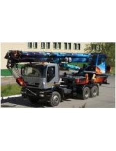 """Автомобильный кран КС-65717 «Челябинец» на шасси """"IVECO-АМТ Trakker AD380T42WH"""""""