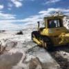 Бульдозер ТМ10 ГСТ12 на соледобывающем карьере