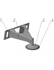 Скалыватель льда дисковый СЛД -45