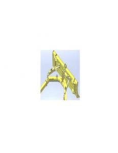 Прямой трехпозиционный отвал с уширителями (тип Т1У)