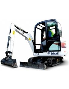 Мини-экскаватор компактный Bobcat E16